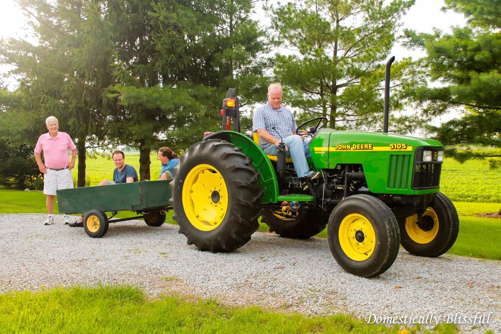 Tractor Ride in Ohio