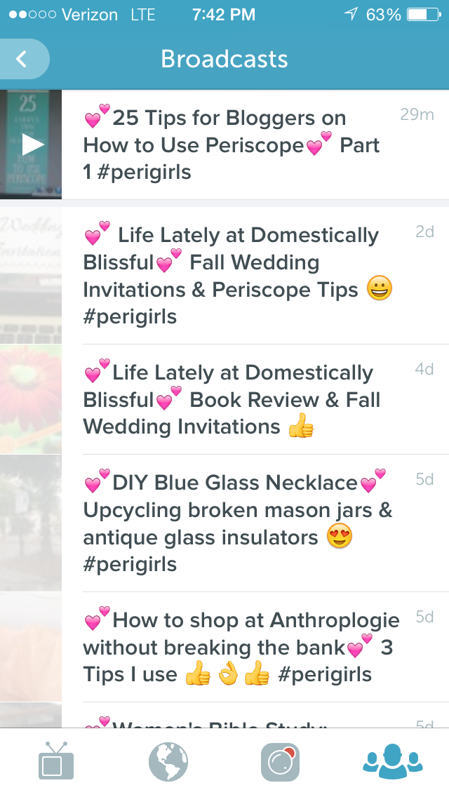 Captivating Periscope Titles