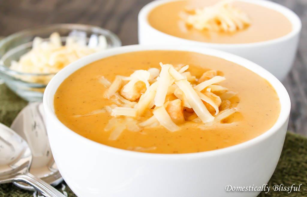 Sweet Potato Gnocchi Soup