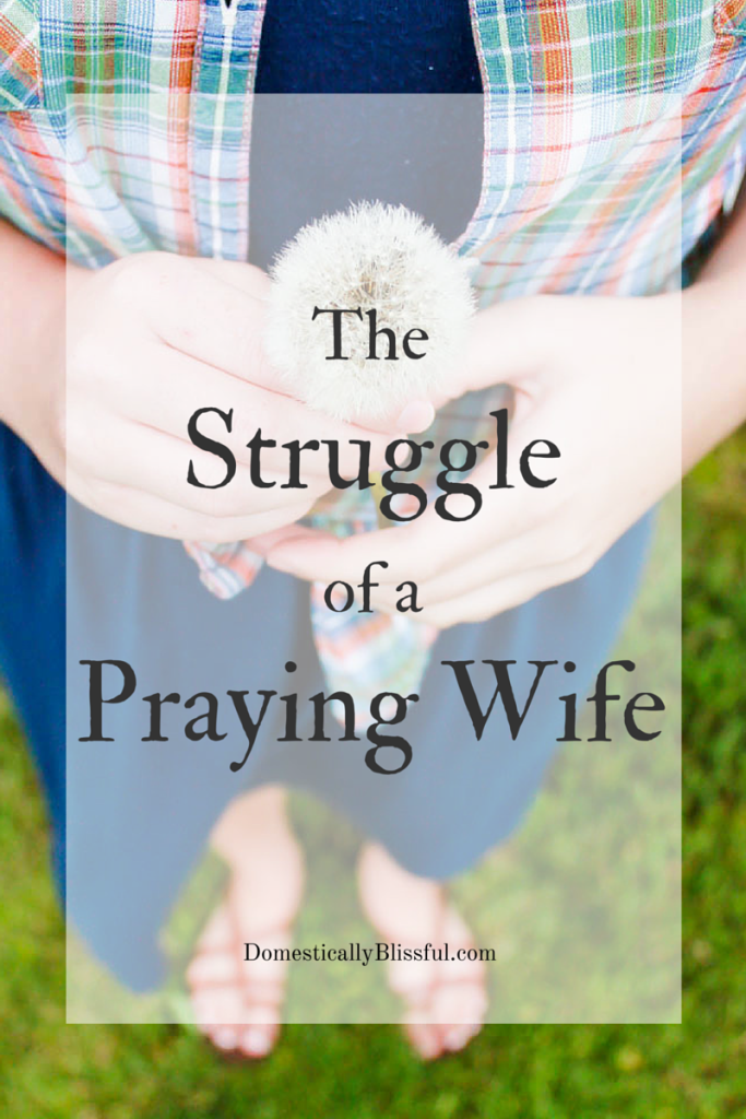 The Struggle of a Praying Wife