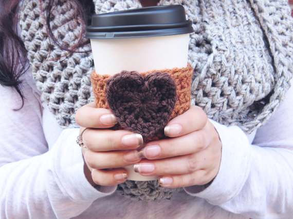 Pumpkin Spice Latte Cozy