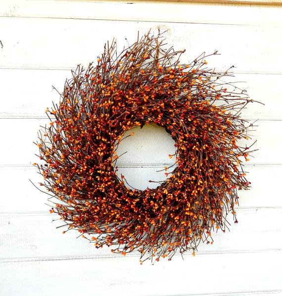 Pumpkin Spice Door Wreath