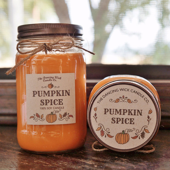 Pumpkin Spice Pure Soy Candle