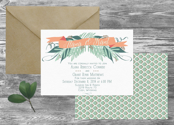 The Cody Wedding Invitation Suite