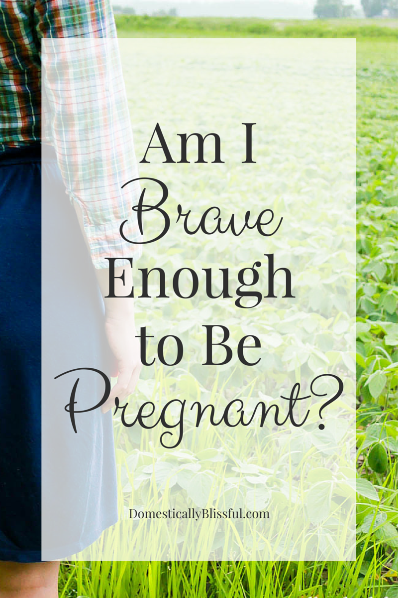 Am I Brave Enough to Be Pregnant