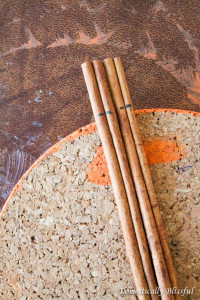 Cinnamon Stick Stem Pumpkin