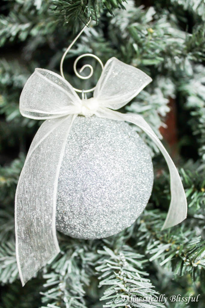 DIY Sparkle Ornament