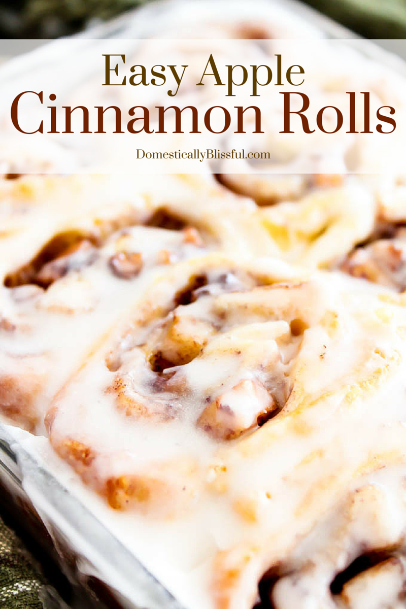 Easy Apple Cinnamon Rolls