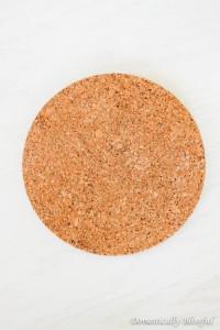 Round Cork Board