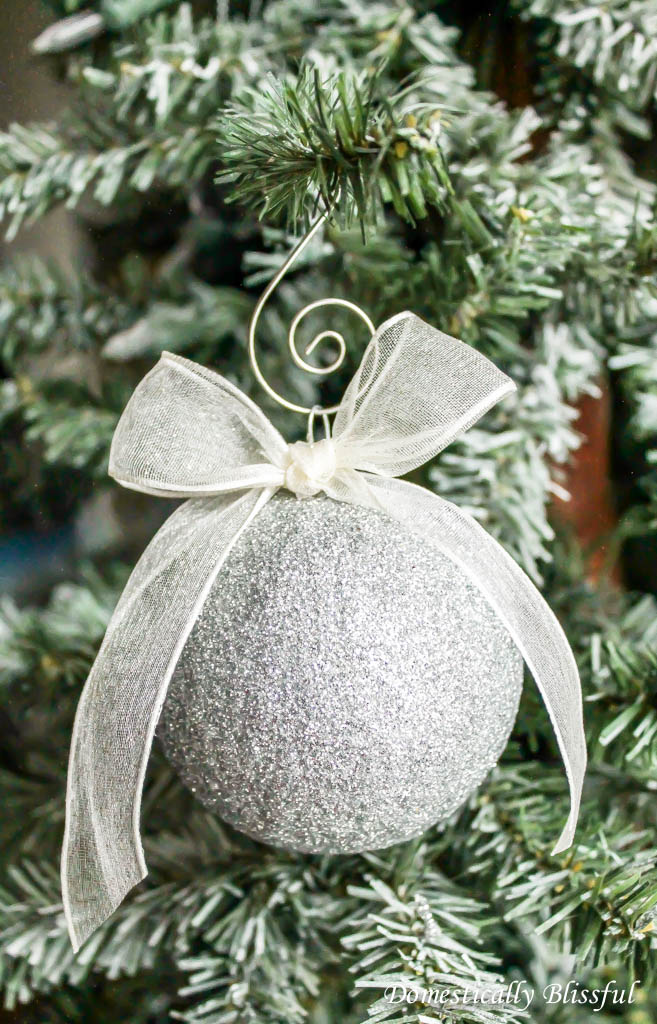 Sparkling Glitter Ornament
