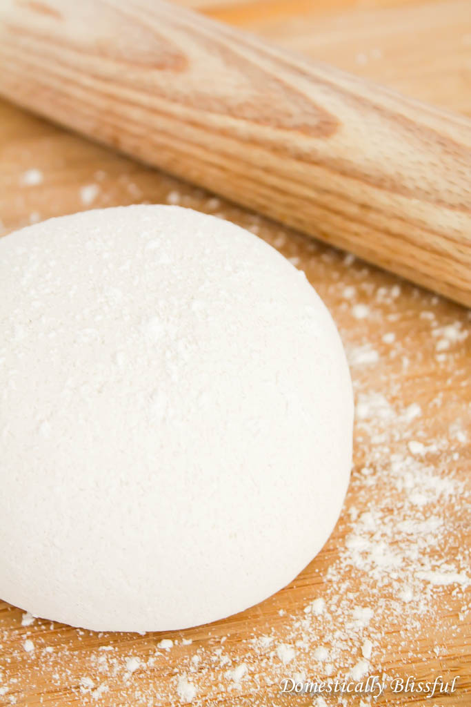 White Salt Dough for Christmas Ornaments & Gift Tags