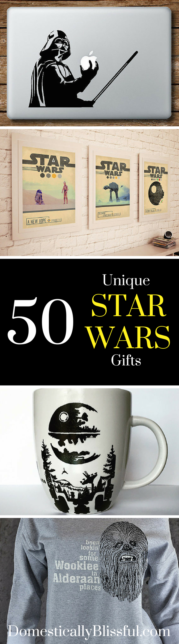 50 Unique Star Wars Gifts any Star Wars fan will love!