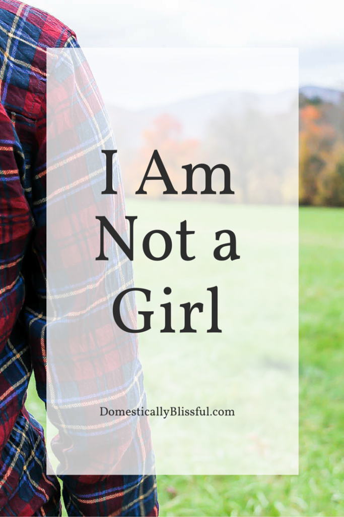 I Am Not a Girl