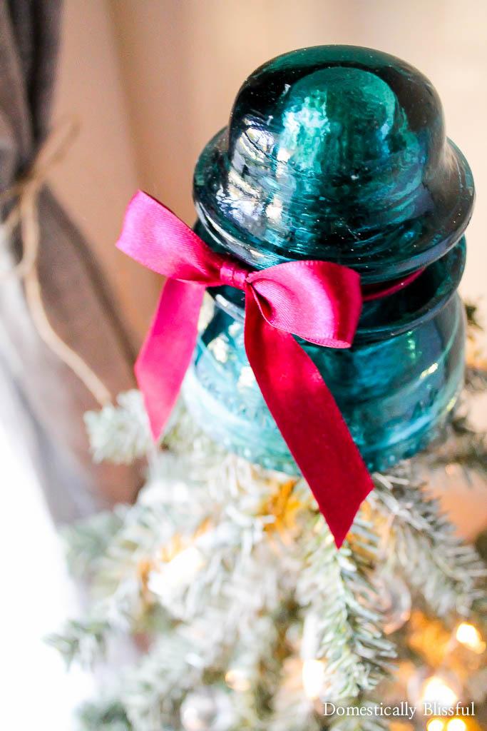 Insulator Christmas Tree Topper