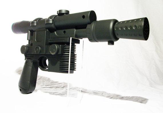 Star Wars Disney Han Solo Costume Blaster Weapon Gun