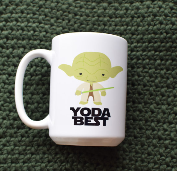 "Star Wars ""Yoda Best"" Coffee Mug"