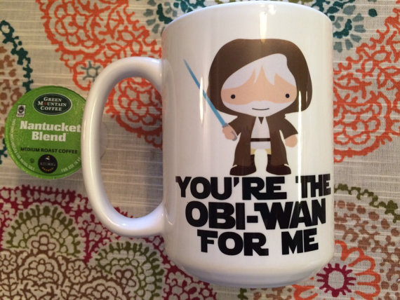 Star Wars You're the Obi-Wan for Me Coffee Mug