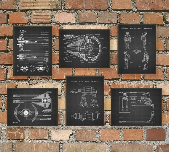 The Ultimate Star Wars Print Set