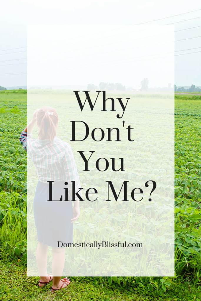 Why Don't You Like Me?