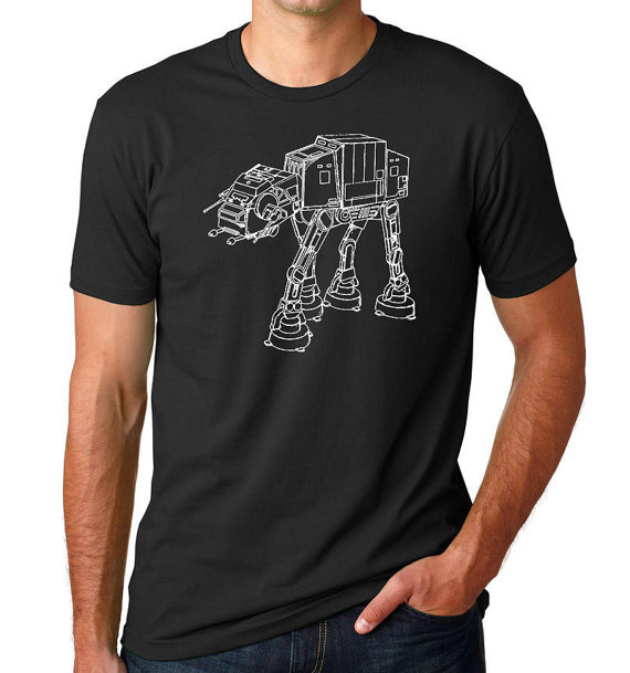 Star Wars AT-AT Walker Patent T Shirt