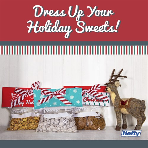 Holiday Treat Toppers from Hefty