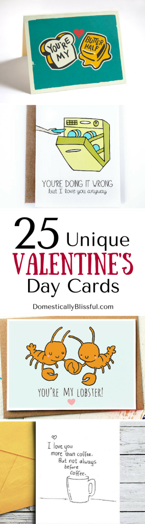 25 Unique Valentine's Day Cards for the quirky, cheesy, & oh-so-loveable person in your life