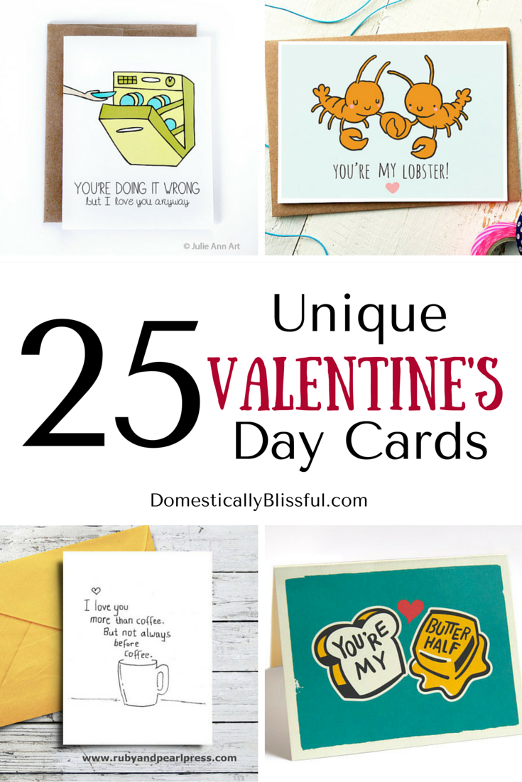 25 Unique Valentines Day Cards Domestically Blissful – Unusual Valentines Day Cards