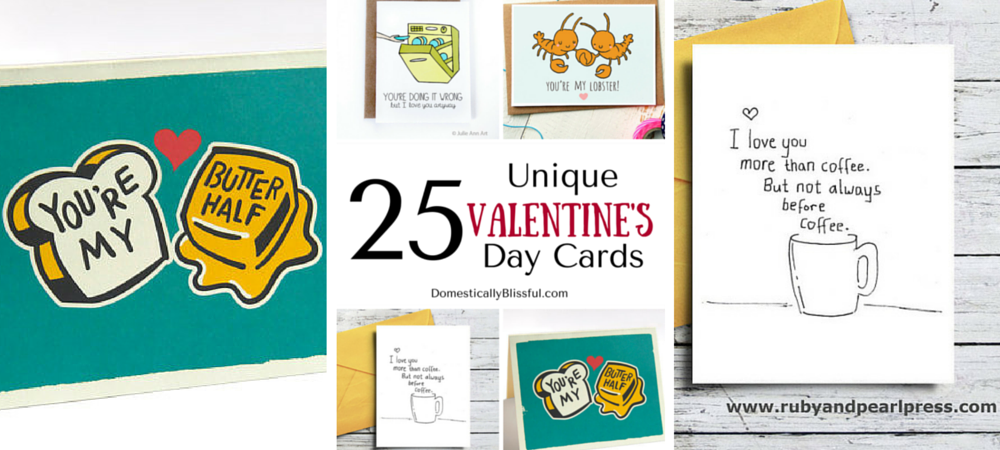 25 Unique Valentine's Day Cards