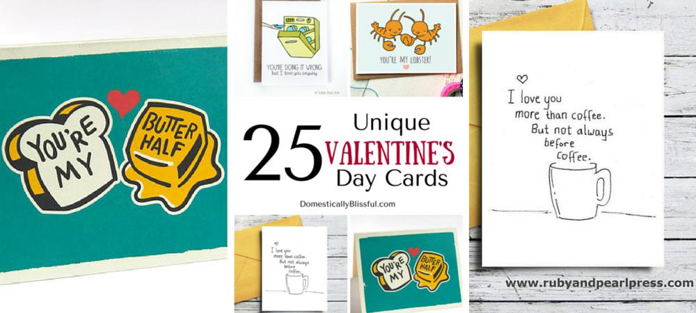 25 Unique Valentine's Day Cards