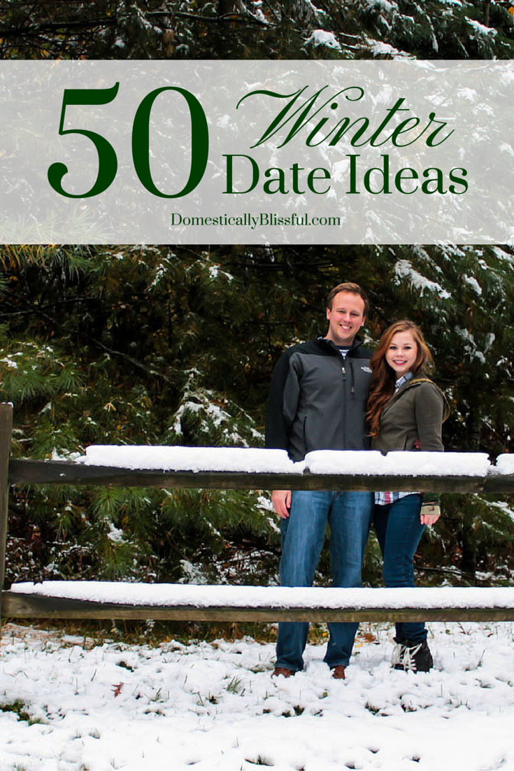50 winter date ideas - domestically blissful