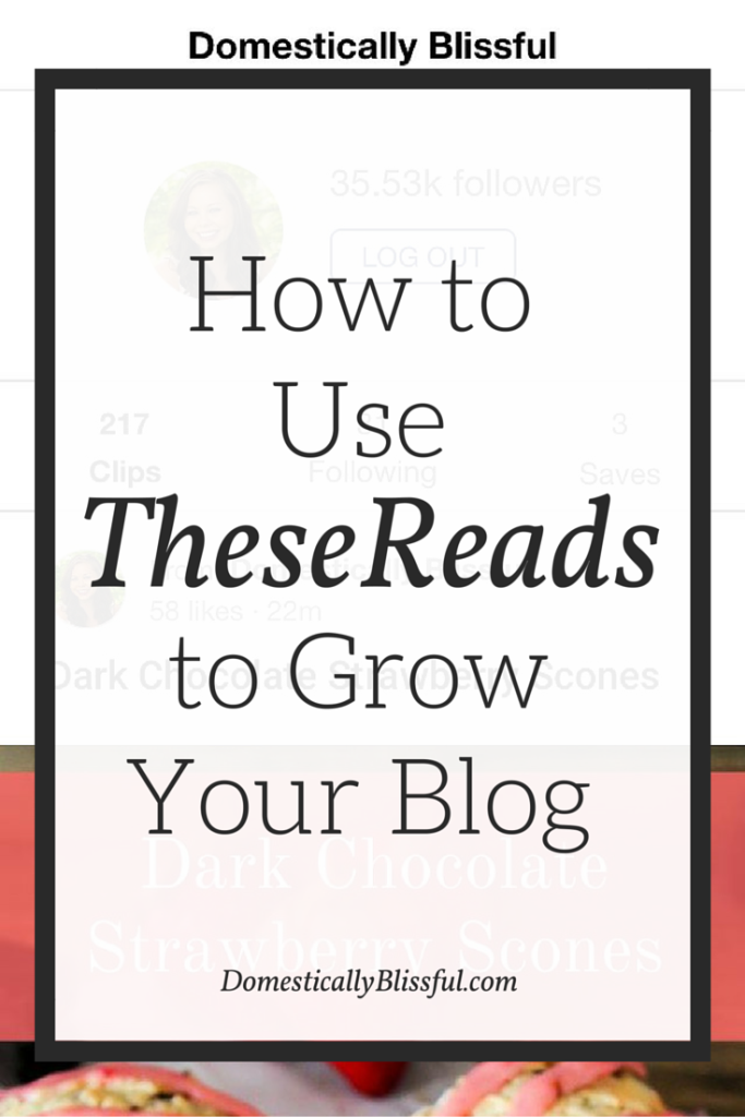 TheseReads is a wonderful new community that bloggers can use to grow their following & readership.