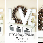 DIY Pussy Willow Wreath