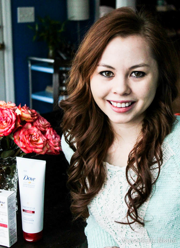 My hair story of 25 years with Dove Hair & the NEW Dove Regenerative Nourishment Collection!