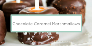 Chocolate Caramel Marshmallows