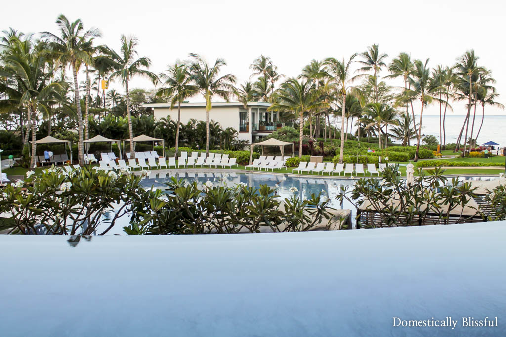 Walk in pool at the Andaz Maui at Wailea Resort
