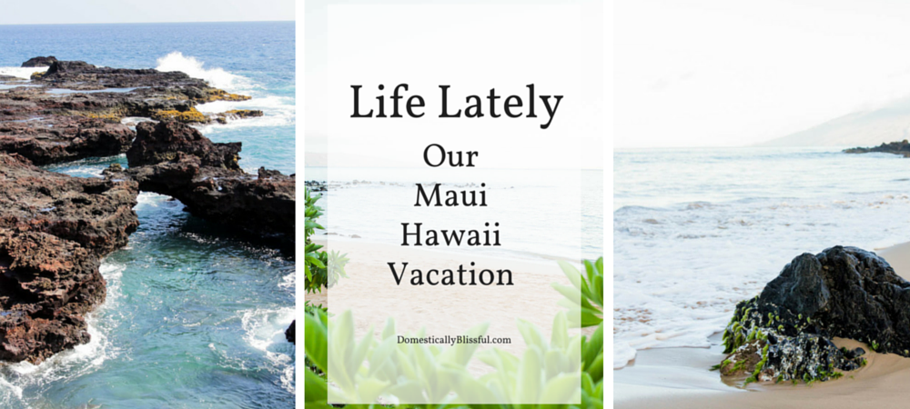Life Lately: Our Maui Hawaii Vacation