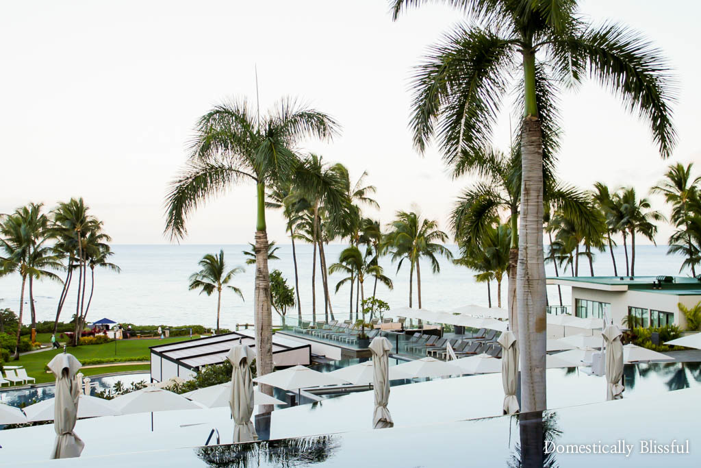 Calm and relaxing mornings at the Andaz Maui at Wailea Resort