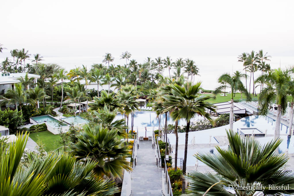 Steps to the infinity pools and beach at the Andaz Maui at Wailea Resort