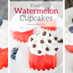 Fresh Watermelon Cupcakes
