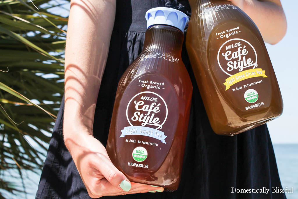 10 Ways to Celebrate Summer with a tall glass of freshly brewed Milo's Cafe Style Teas!