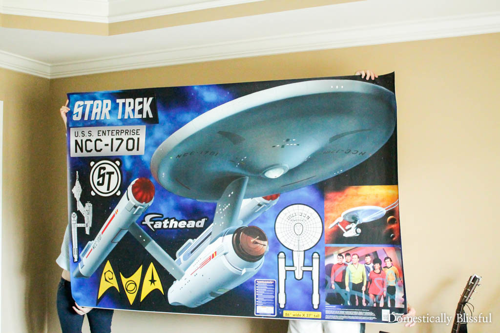 Huge Star Trek Peel and Stick Wall Decal from Fathead