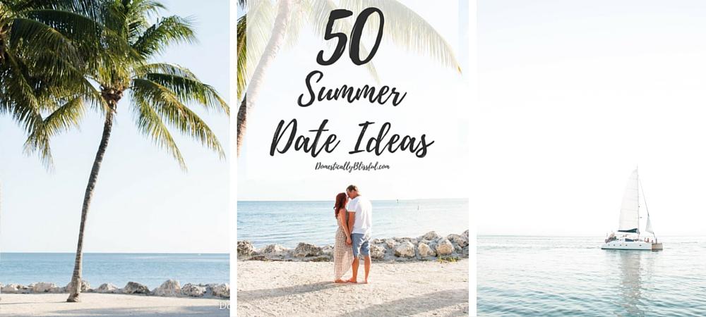 50 Summer Date Ideas