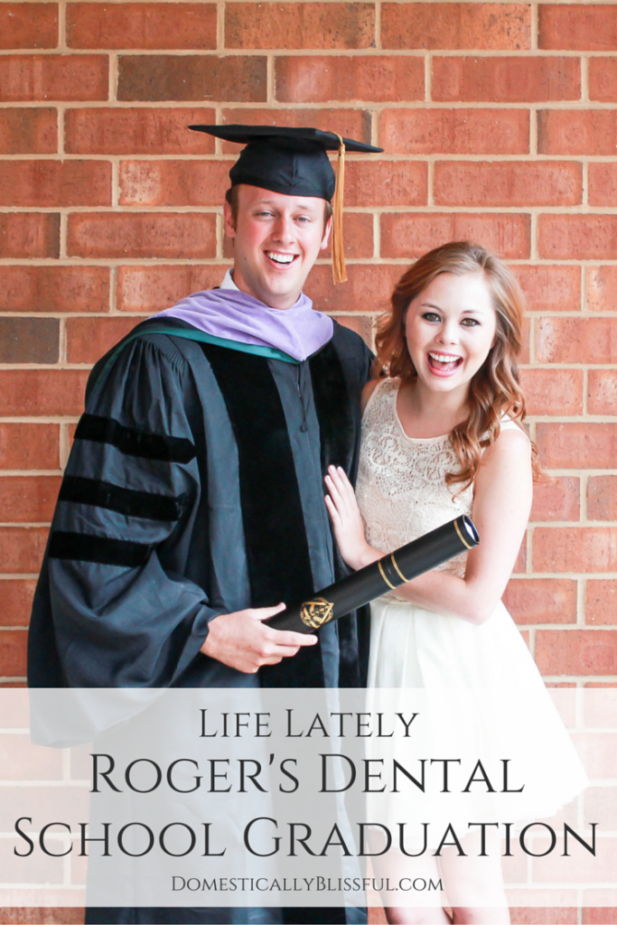 A little life lately to share with you a few pictures from my husband's dental school graduation from the University of Alabama at Birmingham.