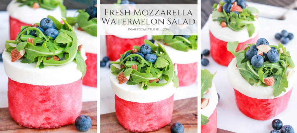 Fresh Mozzarella Watermelon Salad
