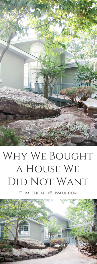"""A little bit about becoming first time homeowners, Why We Bought a House We Did Not Want, and why we are excited about our """"Little Piece of Heaven."""""""