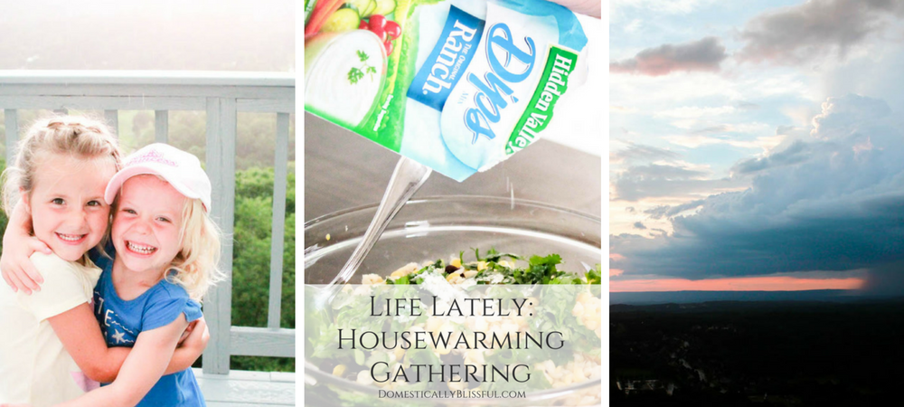 Life Lately: Housewarming Gathering