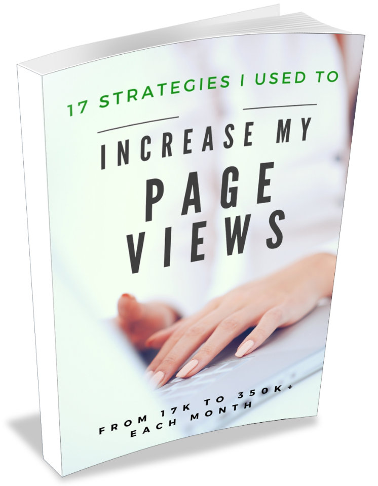 17 Strategies I Used to Go from 17K to 350K+ Pageviews in 9 Months by Lena Gott