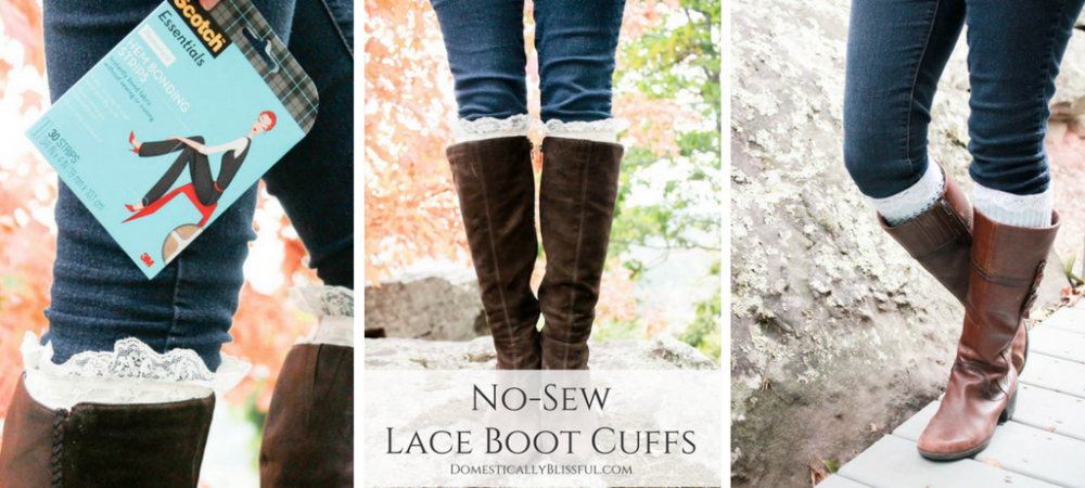 No-Sew Boot Cuffs