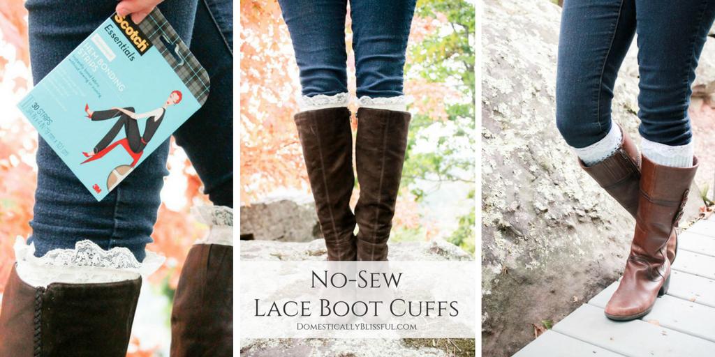 No-Sew Boot Cuffs