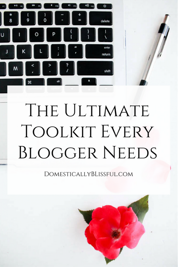The Ultimate Toolkit Every Blogger Needs is perfect for every blogger who dreams of growing their blog!